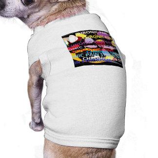 Chronic Pain Syndrome Typography Art Doggie Tshirt