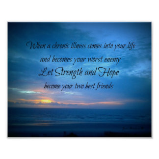 Chronic Pain wall hanging Poster
