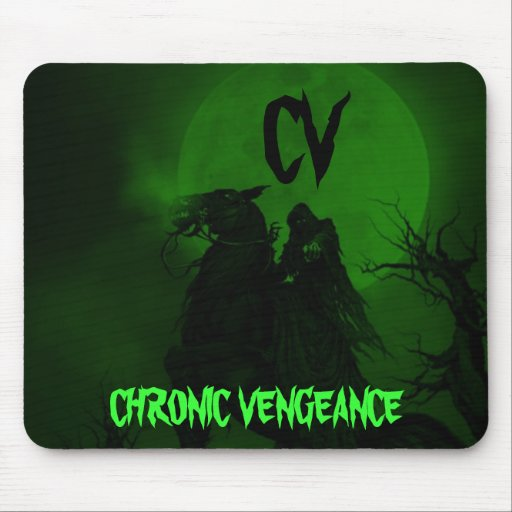 CHRONIC VENGEANCE GAMING CLAN MOUSE PAD