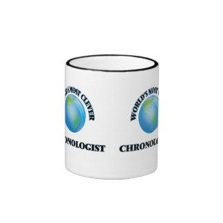 Chronologist más listo del mundo taza de café
