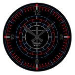 Chronometer II Large Clock by David M. Bandler