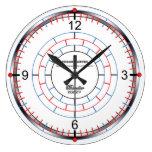 Chronometer Large Clock by David M. Bandler