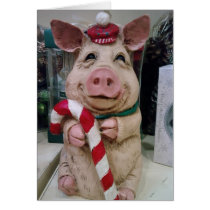 CHRSITMAS **PIG** HAVE A FANTASIC CHRISMAS CARD