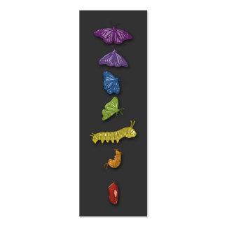 chrysalids tarjetas de visita mini