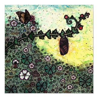 Chrysalis Blank Fine Art Greetings Card