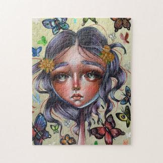 Chrysalis Butterflies Art Pop Surrealism Puzzle