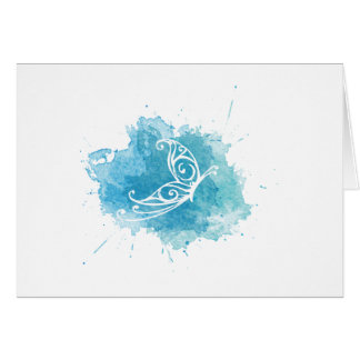 Chrysalis Logo Greeting card - horizontal