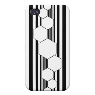 Chrysalis XIII Black White i Cover For iPhone 4