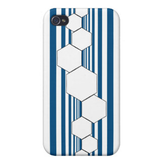 Chrysalis XIII Blue White iPhone Case Cases For iPhone 4