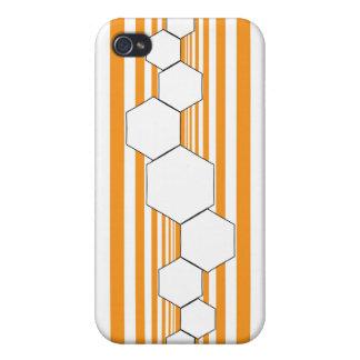 Chrysalis XIII Orange White iPhone Case iPhone 4 Covers