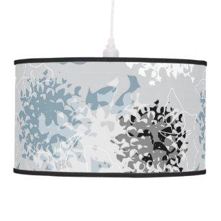 Chrysanth abstracto lámpara de techo