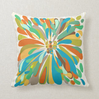 Colorful Abstract Pillows - Decorative & Throw Pillows Zazzle