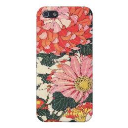 Chrysanthemum and horse-fly, Katsushika Hokusai Case For iPhone SE/5/5s