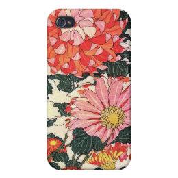 Chrysanthemum and horse-fly, Katsushika Hokusai iPhone 4/4S Cover