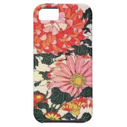 Chrysanthemum and horse-fly, Katsushika Hokusai iPhone SE/5/5s Case