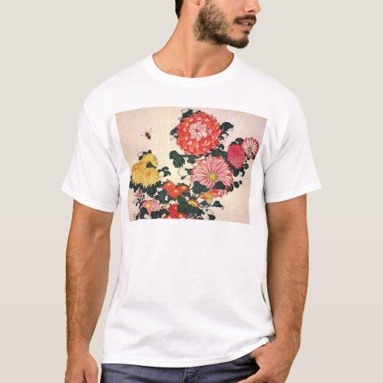 Chrysanthemum and horse-fly, Katsushika Hokusai T-Shirt