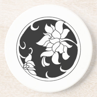 Chrysanthemum Black Beauty Coaster