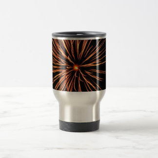 Chrysanthemum Blast Travel Mug