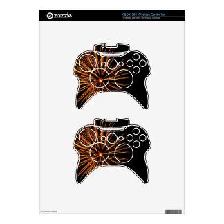 Chrysanthemum Blast Xbox 360 Controller Skin