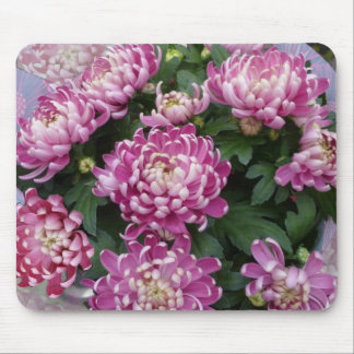 Chrysanthemum Bouquet Mouse Pad