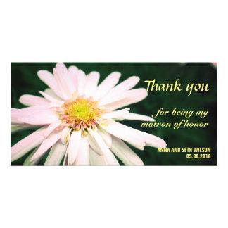 Chrysanthemum Bridesmaid Thank You Card