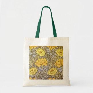 chrysanthemum by William Morris Bags