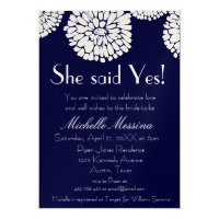 Chrysanthemum Collection | Bridal Shower | Invite