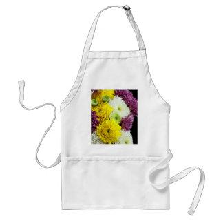 Chrysanthemum Daisies Adult Apron