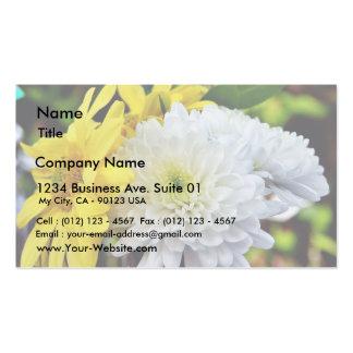 Chrysanthemum Flower Business Card