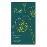 Chrysanthemum Flowers Floral Elegant Chic Business Business Card Templates