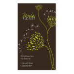 Chrysanthemum Flowers Floral Elegant Chic Business Business Cards