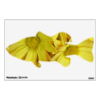 Chrysanthemum Group Plant Yellow Wall Art Wall Sticker