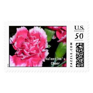 Chrysanthemum  Happy Valentine's Day Postage