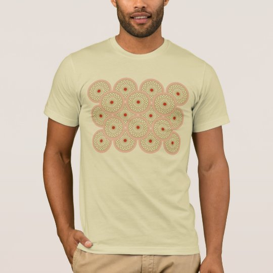 Chrysanthemum I motif light t-shirt
