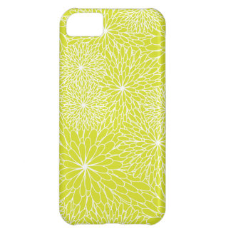Chrysanthemum Lime Green iPhone Case iPhone 5C Case