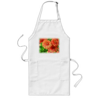 Chrysanthemum Long Apron