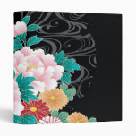 Chrysanthemum & Peony Japanese Fine Art 3 Ring Binders