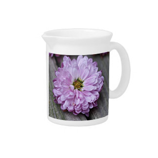 Chrysanthemum photo beverage pitchers