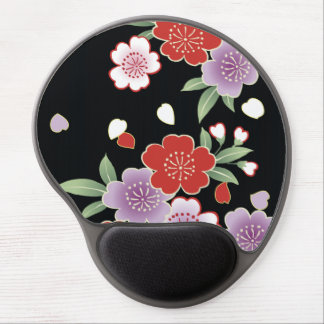 Chrysanthemum & Sakura Japanese Fine Art Gel Mouse Pad