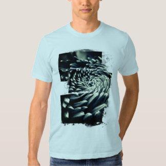 Chrysanthemum swirl tee shirt