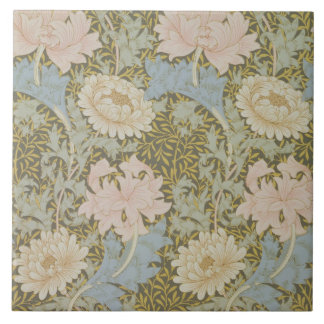 'Chrysanthemum' wallpaper, 1876 (wallpaper) Ceramic Tile