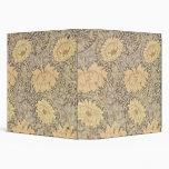 'Chrysanthemum' wallpaper design, 1876 3 Ring Binder