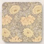 'Chrysanthemum' wallpaper design, 1876 Coasters