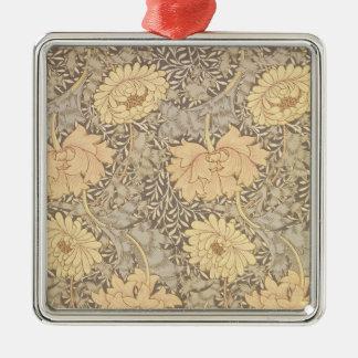 'Chrysanthemum' wallpaper design, 1876 Metal Ornament