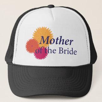 Chrysanthemum Wedding Trucker Hat