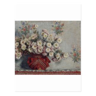 Chrysanthemums (1878) postcard