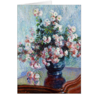 Chrysanthemums, 1882 Claude Monet Card