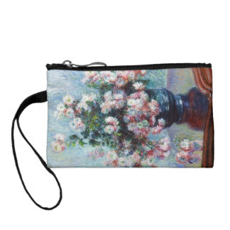 Chrysanthemums, 1882 Claude Monet Change Purse