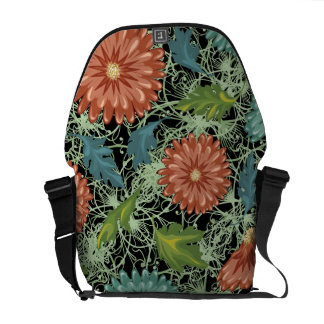 Chrysanthemums 3 courier bags