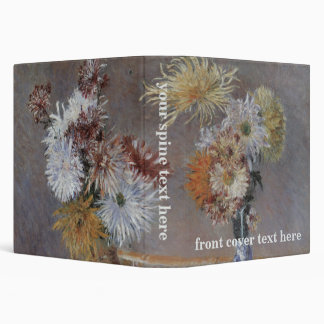 Chrysanthemums by Gustave Caillebotte Binder